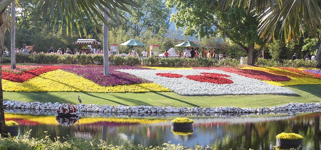 Mickey Mouse Epcot International Garden and Flower Festival