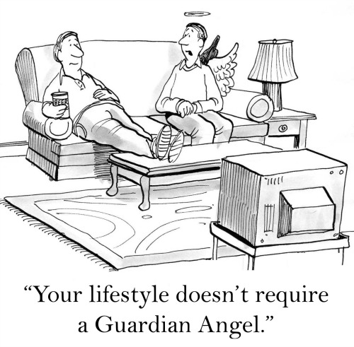 Guardian Angel Cartoon